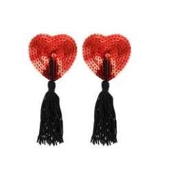 Pezoneras Corazón Rojo...