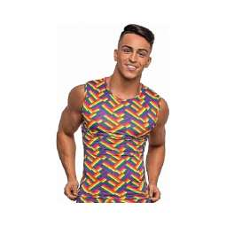 Camiseta Tirantes Arcoiris...