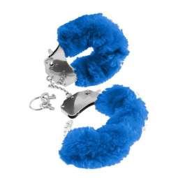 Esposas Metálicas Peluche Azul