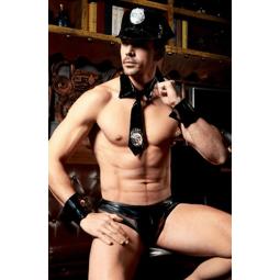 DISFRAZ POLICIA SEXY MAN 6...