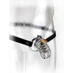 Cinturón Jaula Castidad Metal