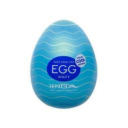 Huevo Masturbador Egg Wavy...