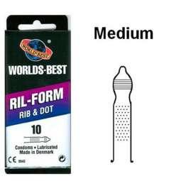 Preservativos con puntos y...