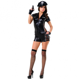 Mujer Policia Disfraz Sexy...