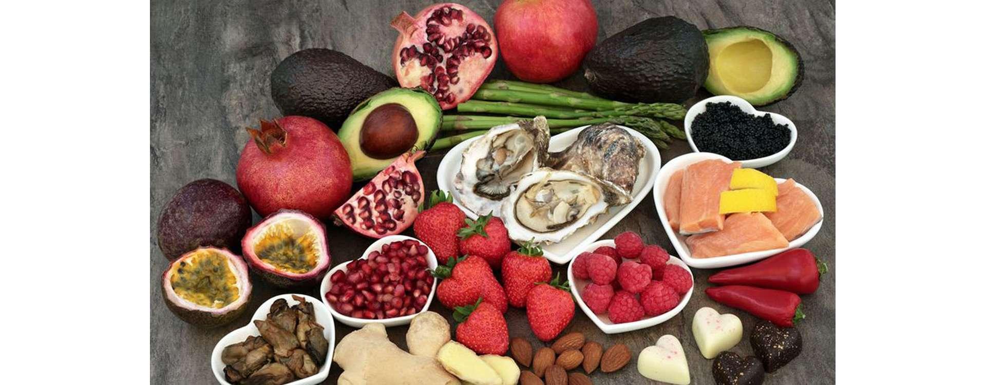 Alimentos Afródisiacos ¿Existen?